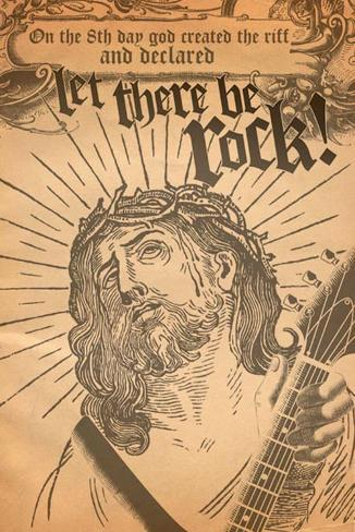 Let There Be Rock Poster