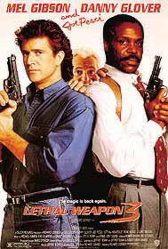 Lethal Weapon 3 (Mel Gibson, Danny Glover, Joe Pesci) Movie Poster Original Poster