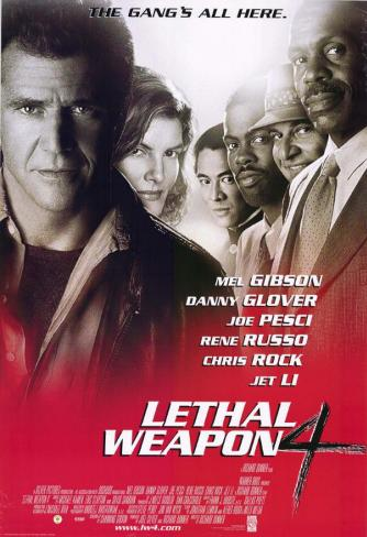 Lethal Weapon 4 Masterprint