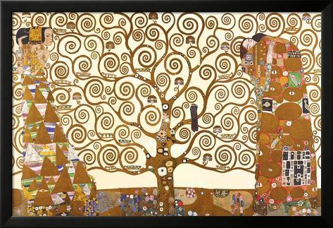 Levensboom Lamina ingelijste poster
