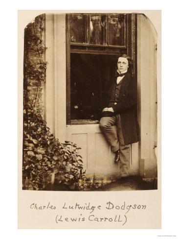 Lewis Carroll (Charles Lutwidge Dodgson 1832-1898), Self Portrait, circa 1863 Giclee Print