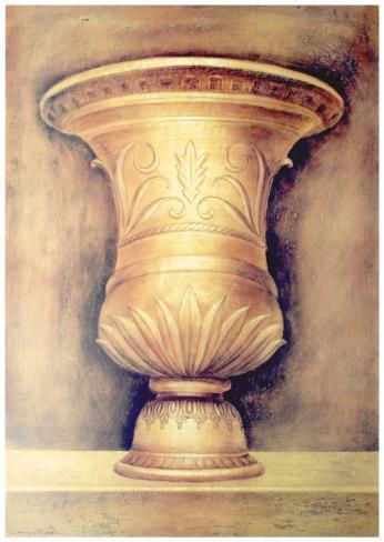 Monumental Vase II Art Print
