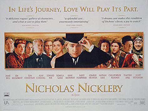 leyenda de Nicholas Nickleby, La Póster original