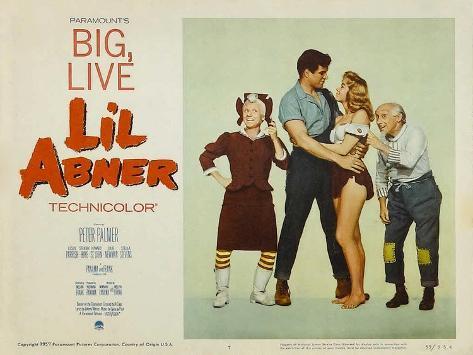 Li'l Abner, 1959 Stampa artistica