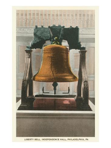 Liberty Bell, Philadelphia, Pennsylvania Art Print
