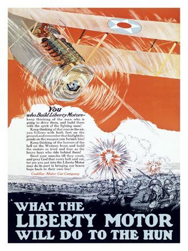 Liberty Motor Giclee Print