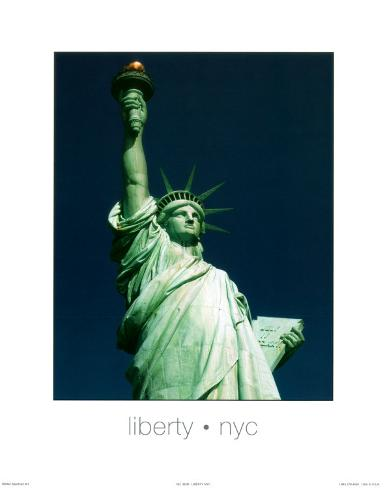 Liberty, New York City Art Print