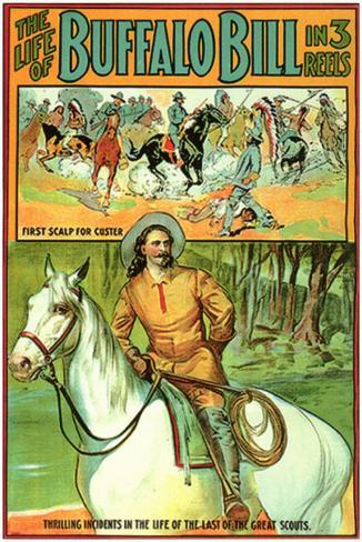 Life of Buffalo Bill Masterprint