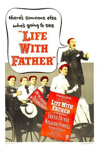 Life with Father Lámina