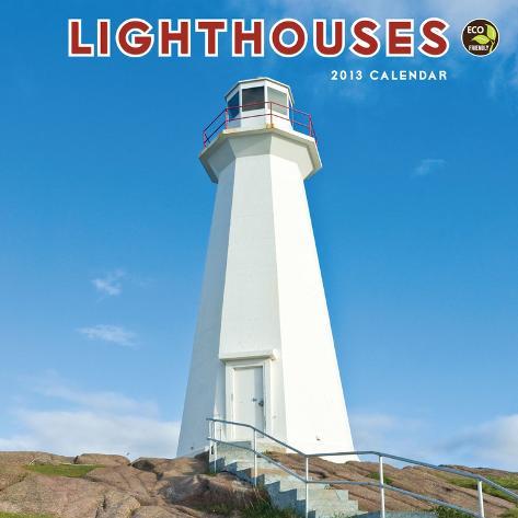 Lighthouses - 2013 Mini Calendar Calendars
