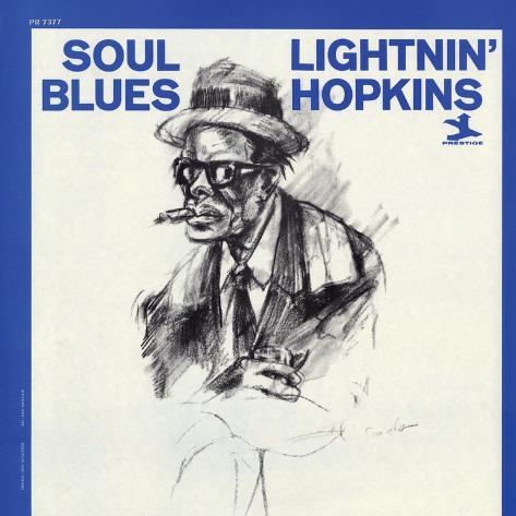 Lightnin' Hopkins - Soul Blues Wall Decal