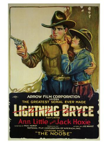 Lightning Bryce, 1919 Art Print