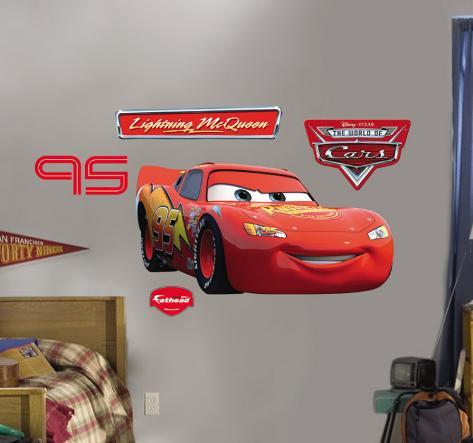 Lightning McQueen  Fathead Wall Decal Part 63