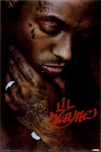 Lil Wayne - Close Up Poster