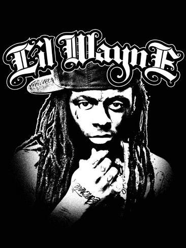 Lil Wayne Fabric Poster