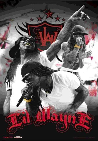 Lil Wayne 3 Dimensional Poster