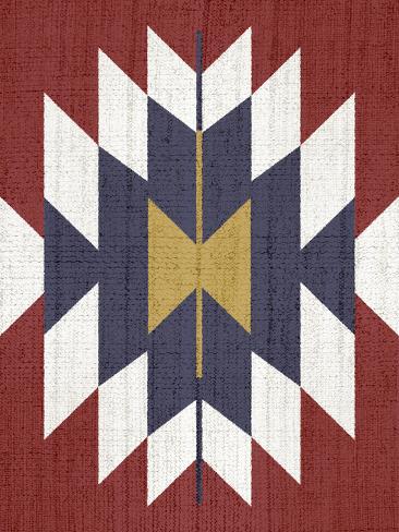 Geometric Tribal Print Stampa artistica