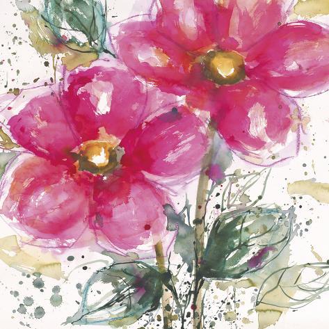 Pink Flower II Art Print