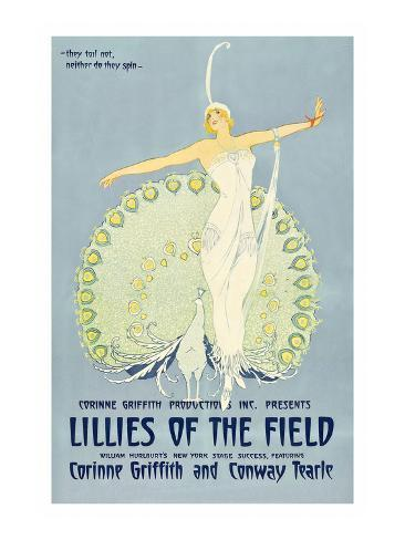 Lilies of the Field Art Print