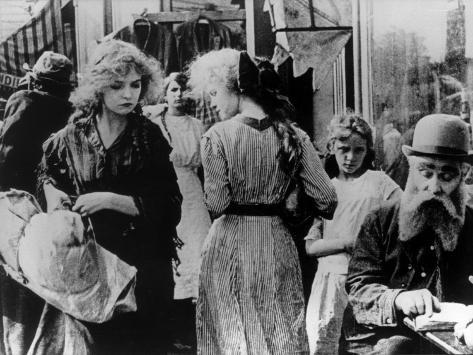 Lillian Gish: The Musketeers of Pig Alley, 1912 Photographic Print