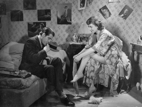 Jean Gabin and Viviane Romance: La Belle Équipe, 1936 Photographic Print