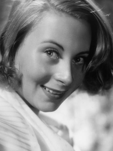 Michèle Morgan, 1939 Photographic Print