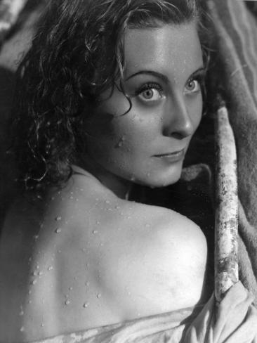 Michèle Morgan: La Loi Du Nord, 1939 Photographic Print