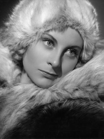 Michèle Morgan: La Loi Du Nord, 1939 Stampa fotografica