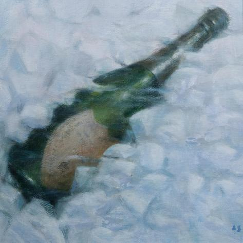 Champagne on Ice, 2012 Giclée-vedos