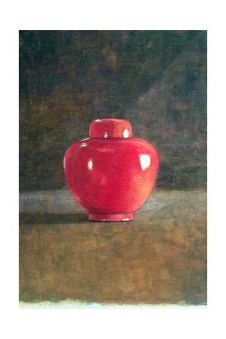 Red Jar, 1996 Giclée-vedos