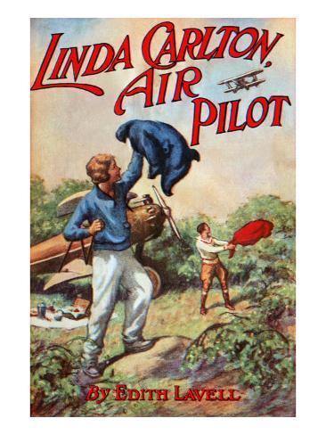 Linda Carlton Air Pilot Art Print