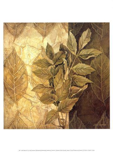 Leaf Patterns IV Art Print