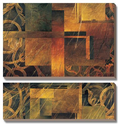 Visual Patterns II Canvas Art Set