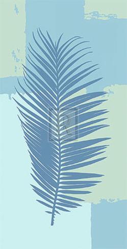 Tropical Fern I Art Print