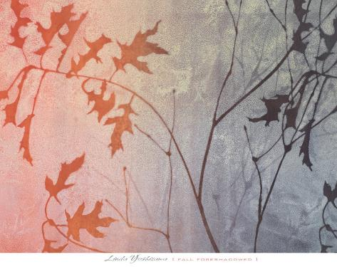 Fall Foreshadowed Art Print
