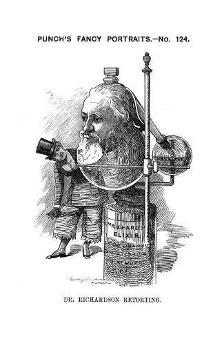 Benjamin Ward Richardson Stampa giclée