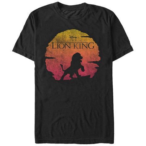 Lion King- Desert Sun Logo T-Shirt