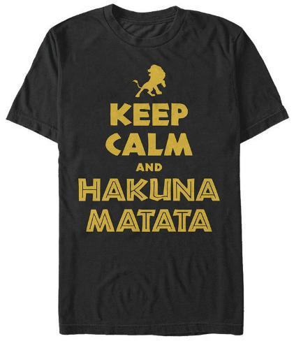 Lion King- Keep Calm T-Shirt
