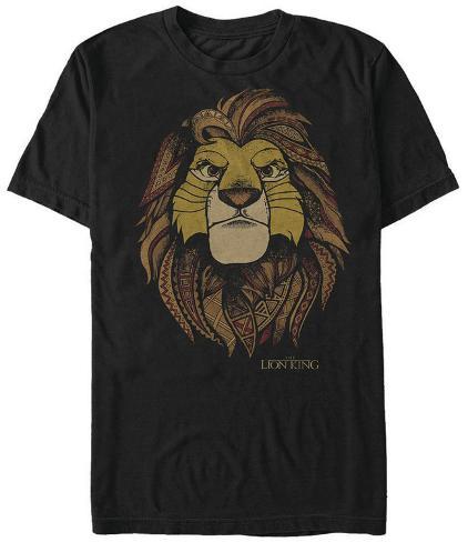 Lion King- King Face T-Shirt