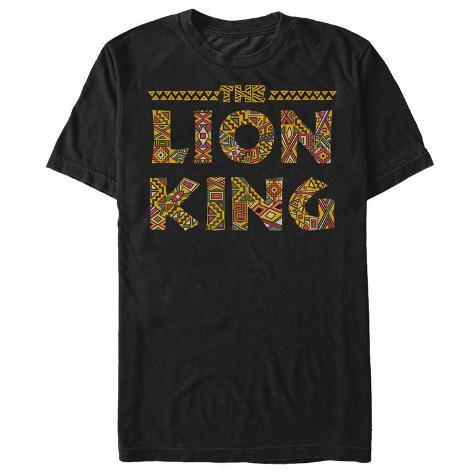 Lion King- Sahara Print Logo T-Shirt