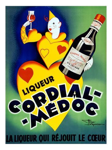 Liqueur Cordial Medoc Giclee Print