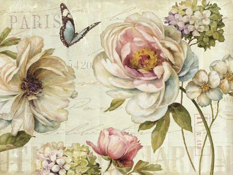 Marche de Fleurs IV Premium Giclee Print
