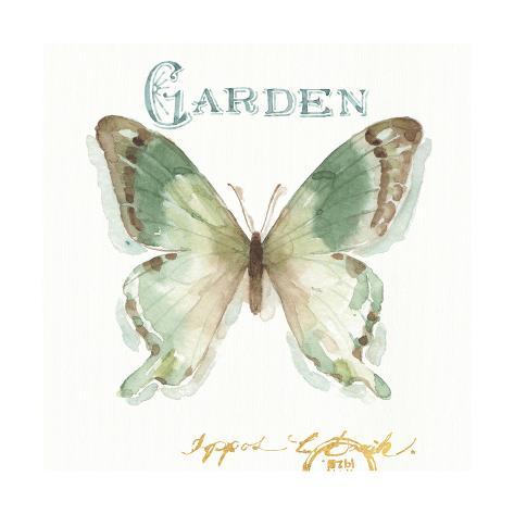 My Greenhouse Butterflies III Art Print