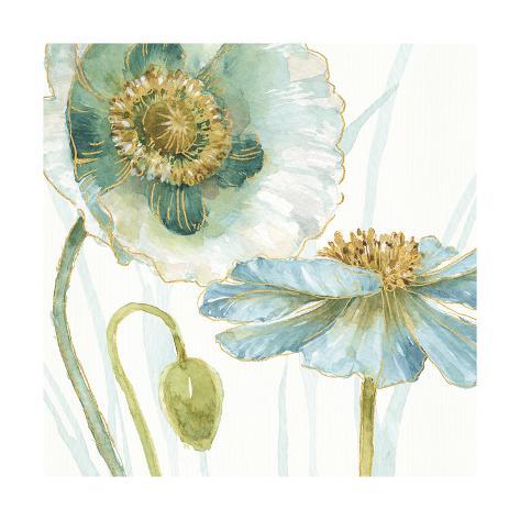 My Greenhouse Flowers V Art Print