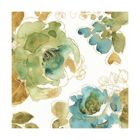My Greenhouse Roses II Art Print