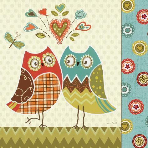 Owl Wonderful II Premium Giclee Print