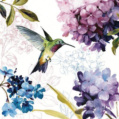 Spring Nectar Square II Art Print