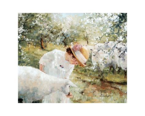 Flowery Spring Art Print