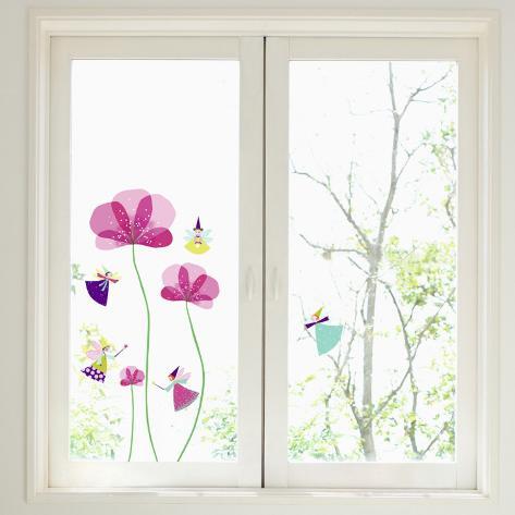 Little Fairies Window Decal Sticker Adesivo de janela