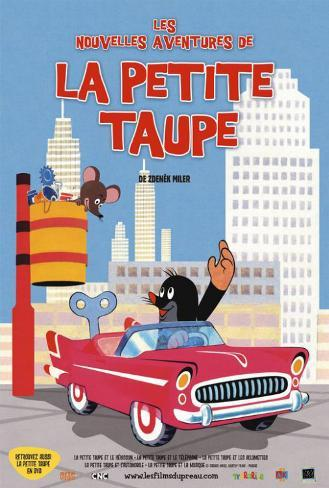Little Mole - French Style Poster